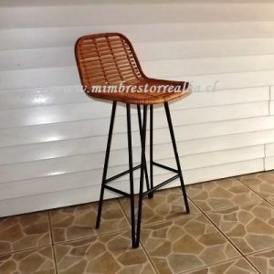 silla bar doble palito